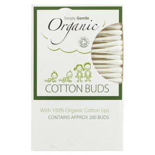 Simply Gentle Cotton Buds - Organic - 200